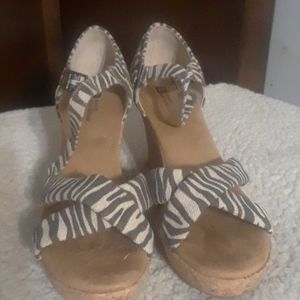 Shoes - White Mountain Wedged Heel
